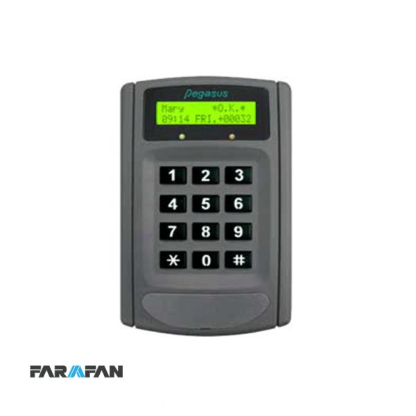 کنترلر تردد با دو ورودی کارتخوان و امکان گزارشگیری مدل PC-6750