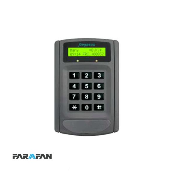 کنترلر کارت و کد با صفحه نمایش و امکان گزارشگیری مدل PP-6750V