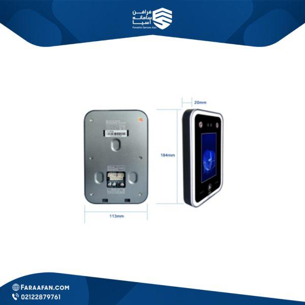 دستگاه کنترل تردد(کنترل دسترسی)تشخیص چهره در حرکتFG-02