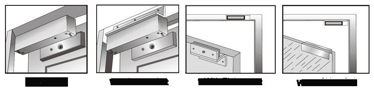 تنظیمات قفل برقی مگنتی فرافن سامانه آسیا مدل FG-C Lock3
