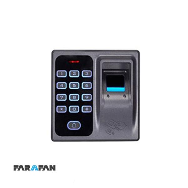 دستگاه کنترل تردد (کنترل دسترسی) اثرانگشتی و رمزی مدل FG-12