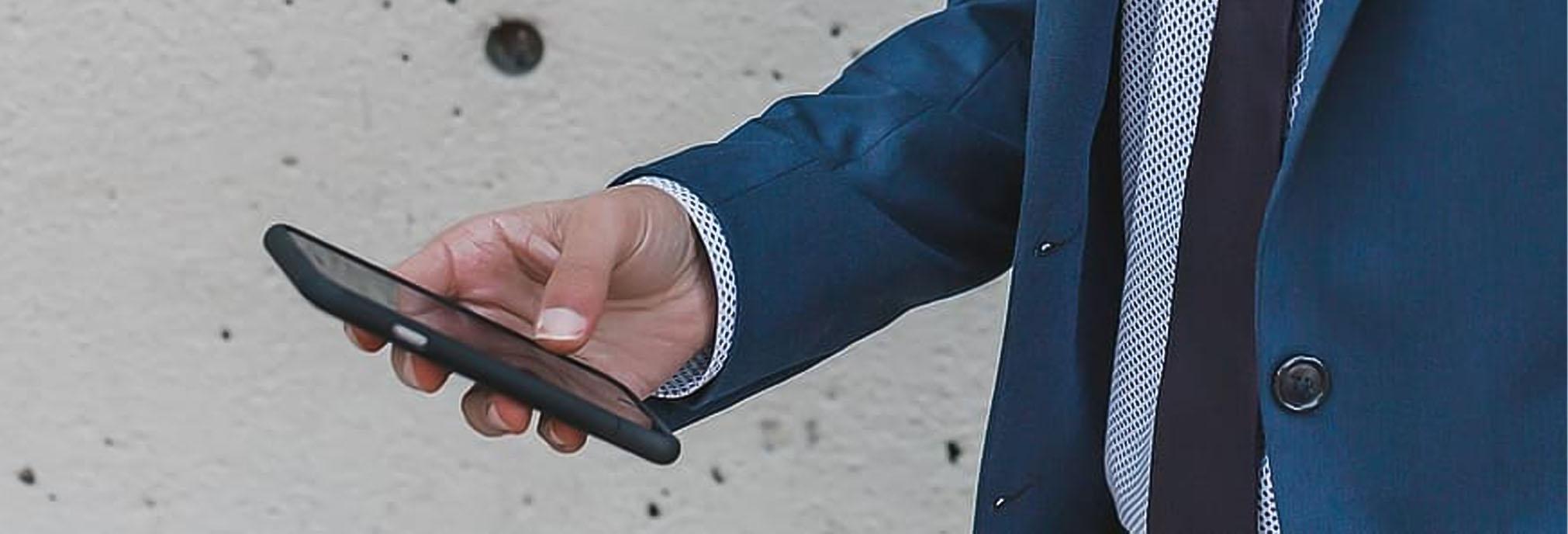 مدیریت انلاین تردد از طریق تلفن همراه