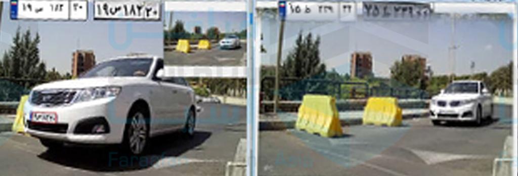 نرم افزار کنترل تردد خودرو، نرم افزار کنترل تردد فراگارد، امکان مقایسه و چک کردن تصویر ورود به هنگام خروج، نرم افزار پارکینگ