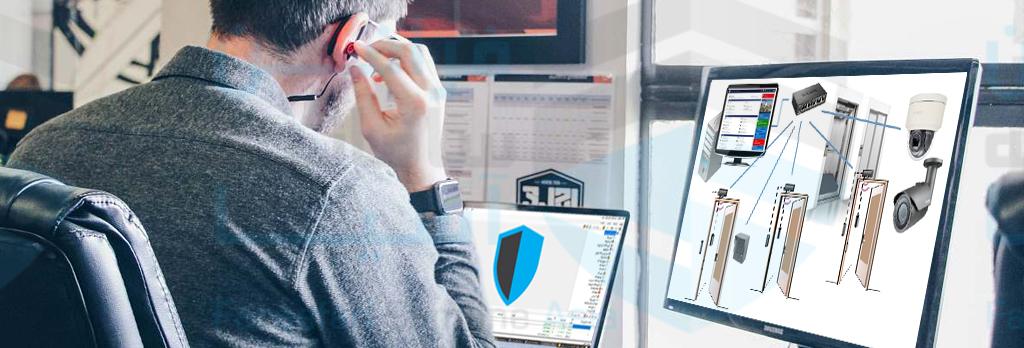 تگ TID، نرم افزار فراگارد، بازکردن درب از طریق نرم افزار کنترل تردد فراگارد