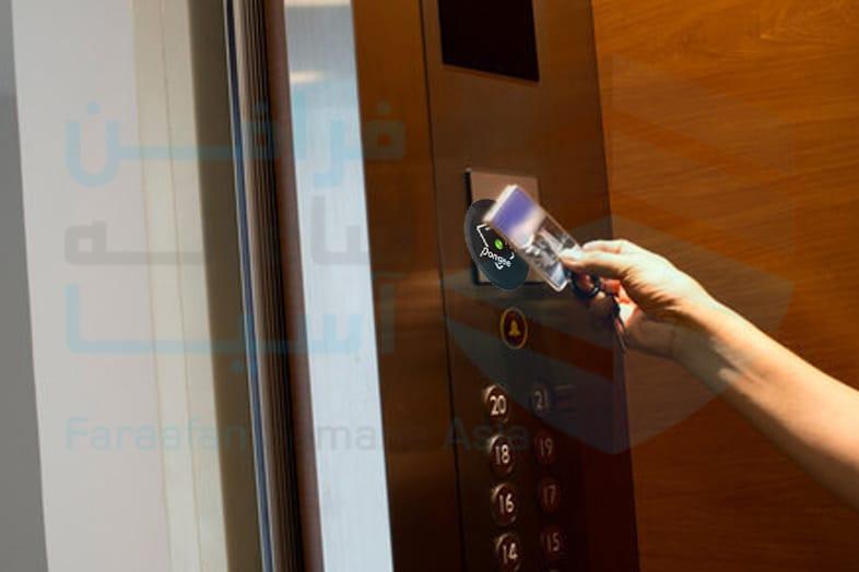 سیستم آفلاین با کنترل طبقات، کنترل تردد آسانسور