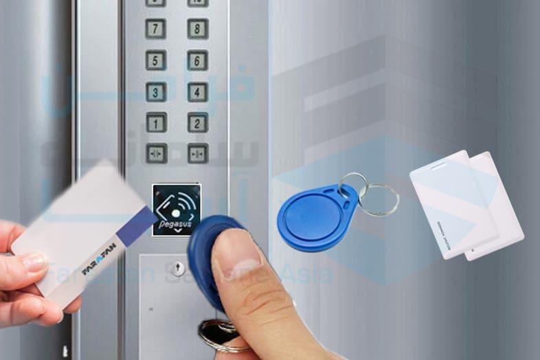 ادوات شناسایی، کنترل تردد آسانسور