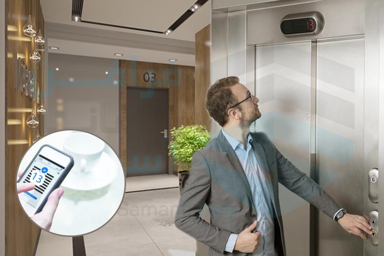 کنترل تردد آسانسور، نصب تگ آسانسور، ریموت کنترل آسانسور