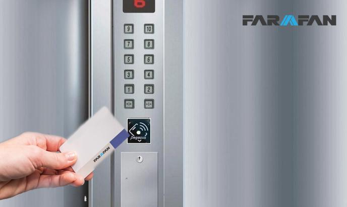 کنترل تردد آسانسور