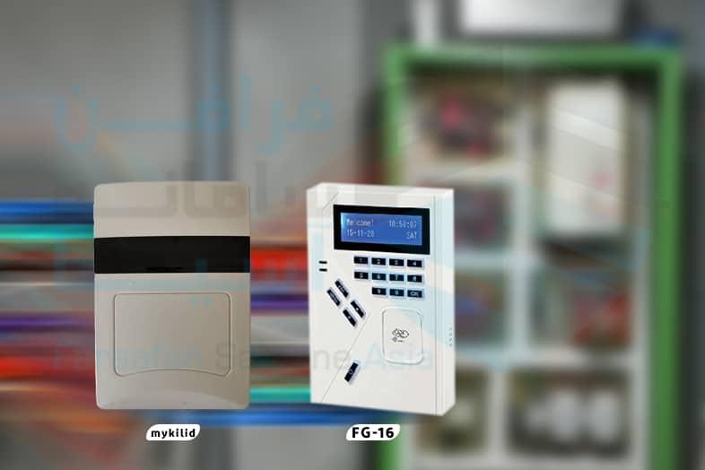 تجهیزات سیستم انلاین کنترل تردد اسانسور